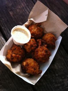 conch fritters in Hope Town
