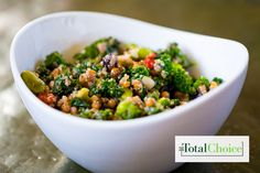 Total Choice Italian Broccoli Quinoa Bowl : Try this homestyle Italian dish in the comfort of your own kitchen. Eat this recipe on the Total Choice 1200-calorie plan.