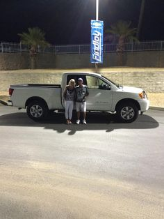 GAIL AND ROBERT 's new 2014 NISSAN  TITAN! Congratulations and best wishes from Findlay Motor Company and Jesse Premsey.
