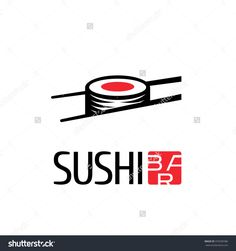 Sushi Vector Logo, Icon, Symbol, Emblem, Sign. Design Element For ...
