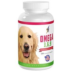 Best Omega 369 Fish Oil for Dogs  120 Chewable Tablets  Healthy Heart Supplement Skin and Coat Supplements and Joint Support  Fatty Acids Supplement Dog Chews  Boosts Immune System >>> Visit the image link more details. Note:It is affiliate link to Amazon.