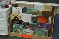 Mixing student-created and class-created books with picture books from favorite nonfiction authors helps students see themselves as authors.