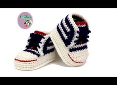 Brilliant Baby Converse Shoes To Easily Make For Your Little Baby - Knit And Crochet Daily