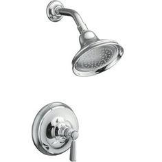 Kohler KT105834SN/K304K Bancroft Single Handle Shower Faucet - Vibrant Polished Nickel at Ferguson.com