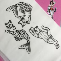 Popular Tattoos and Their Meanings Great Tattoos, Body Art Tattoos, Small Tattoos, Sleeve Tattoos, Tatoos, Cat Tattoo, Get A Tattoo, Tattoo Drawings, Tattoo Art