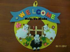 Hobi ve Moda: Kuzulu Kapı Süsü...