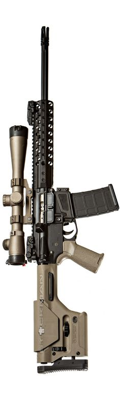 Wilson Combat 300BLK precision build with Leupold, Magpul and Geissele trig in the Mega Arms lower. By Stickman.