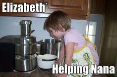 Elizabeth Helping Nana