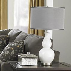 Love the Grey lamp shade