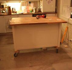 stenstorp kitchen bench with overhanging benchtop ikea hackers kitchen island on wheels - Kitchen Island Diy Ideas
