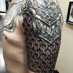 Armor tattoo - More