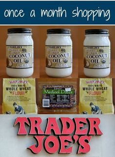 Once a Month Shopping at Trader Joe's | Real Food Real Deals #frugal #shopping #healthyeatingparty