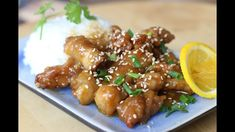 ORANGE CHICKEN - GA SOT CAM Vietnamese Recipes, Asian Recipes, Vietnamese Food, Ethnic Recipes, Asian Foods, Cooking Videos, Food Videos, Helen Recipe, Good Food