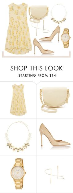 """Let's Play Dress Up"" by tiarheanne ❤ liked on Polyvore featuring The Great, Sophie Hulme, Gianvito Rossi, Kate Spade, Leith, women's clothing, women's fashion, women, female and woman"