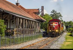 RailPictures.Net Photo: GNRR 316 Georgia Northeastern EMD GP20 at Woodstock, Georgia by Jake Maiello