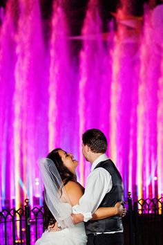 Spend your first night as newlyweds with a private viewing of World of Color