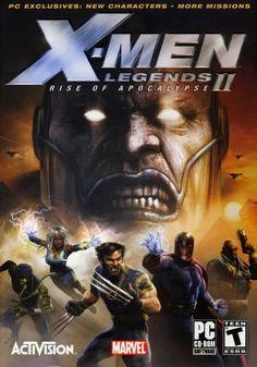 X-Men Legends II: Rise of Apocalypse (Nintendo GameCube, for sale online X Men, Gamecube Games, Xbox Games, Pc Games, Playstation Portable, Playstation 2, Wolverine, Xbox 360, Professor Xavier