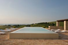 Casa Olivi by Wespi, de Meuron, Romeo Architects – casalibrary Above Ground Swimming Pools, Above Ground Pool, In Ground Pools, Pool Deck Plans, Pool Decks, Old Farm Houses, Boutique Homes, Beautiful Villas, Swimming Pool Designs