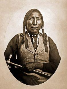 Kiowa Chief Lone Wolf - Guipago 1868