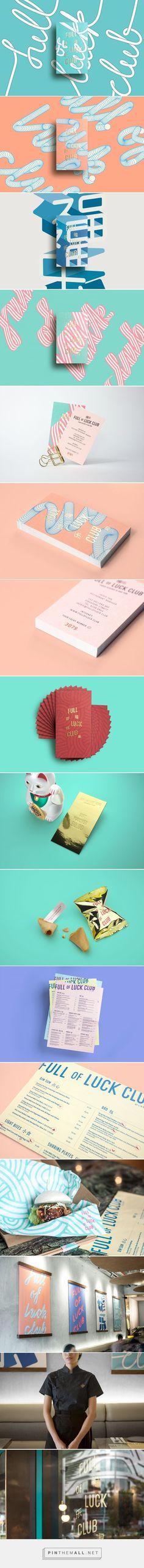Branding | Graphic Design | Full of Luck Club by Bravo on Behance