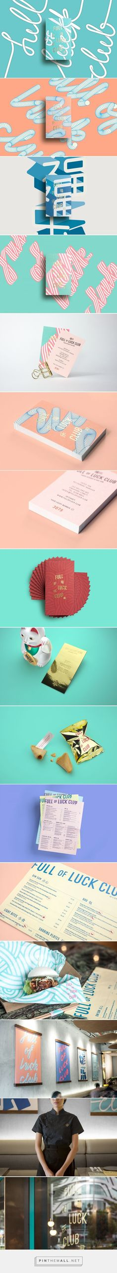 Branding | Graphic Design | Full of Luck Club by Bravo on Behance                                                                                                                                                                                 More