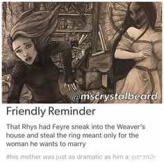 daym rhys. ur mom wants u to have THE right bride