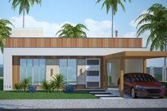Fachada – Plantas de casas 2 – cód.114