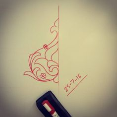 #abstract #islamic #floral #design on #whiteboard #sketch #الزخارف_الإسلامية #زخارف #زخرفة_اسلامية #زخرفة