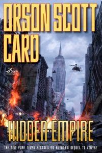Good Book Day- Hidden Empire by Orson Scott Card