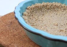 Gluten Free Graham Crumbs - If you can't find gluten-free graham crumbs, make your own!
