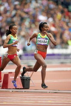 News Photo: Summer Olympics Ethiopia Tirunesh Dibaba in action during…