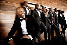 the groomsmen attire
