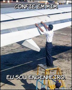 eu sou engenheiro