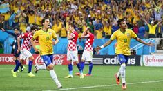 Neymar fires Brazil to comeback victory  A double from Neymar propelled Brazil to a 3-1 comeback victory over Croatia in an entertaining start to the FIFA World Cup.