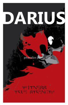 Darius League of Legends Print by pharafax on Etsy