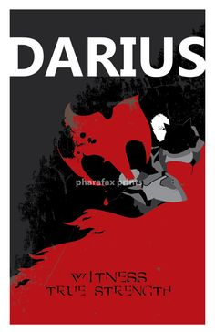 Darius League of Legends Print by pharafax on Etsy