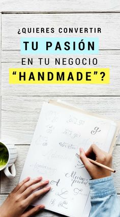 """¿Quieres convertir tu pasión en tu negocio """"handmade""""? Descubre porque es importante crear un producto que se promociona a si mismo   Marketing Consejos   Marketing Tips   #marketing #emprendedor #artesania #hechoamano #negocio #handmade #etsy"""