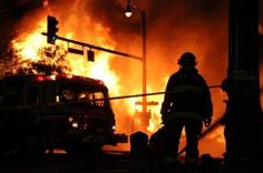 E.L. Lewis building in New Westminster, B.C. destroyed by fire (via www.news1130.com)