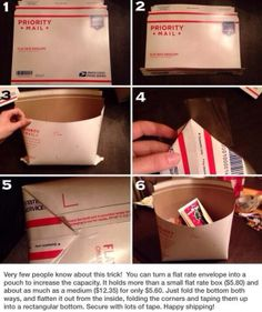 Flat Rate Mail pouch