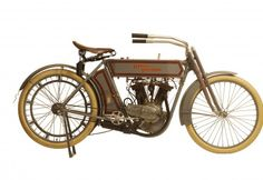 "George Pardos Collection ""Evolution of the Harley-Davidson Motorcycle"": 1911 Harley Davidson 7D Twin"