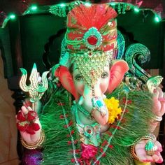 New pin for Ganpati Festival 2015 is created by by sushilbhosle with #ganpatibappa#first pic on insta