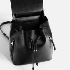 Stylish School Bags, Black School Bags, Monkey Bag, Urban Bags, Zeina, Stylish Backpacks, Zara Bags, Black Leather Backpack, Girls Bags