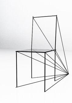 Perspective Chair by Arten Zigert