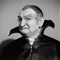 Grandpa from the Munster's. Although it was a comedy series I was still scared of the family!!  Being in black and white made it even more spooky!! ( I was only 10).....