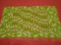 tapetinho em crochê peruano