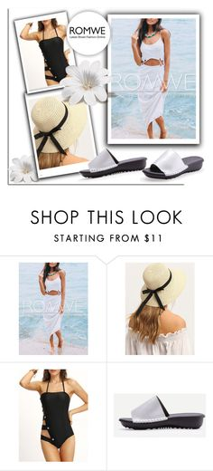 """""""ROMWE 9/6"""" by melissa995 ❤ liked on Polyvore"""