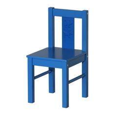KRITTER Gyerekszék - kék - IKEA