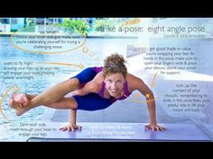 Eight Angle Pose (Astavakrasana) Step by Step with Karlee - YouTube