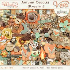 Autumn Cuddles [Page Kit]