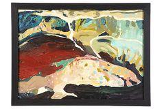 1950s Abstract Landscape I on OneKingsLane.com